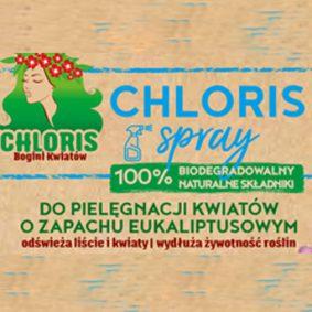 Chloris Spray. Odświeża I Wydłuża Żywotność Roślin 1L