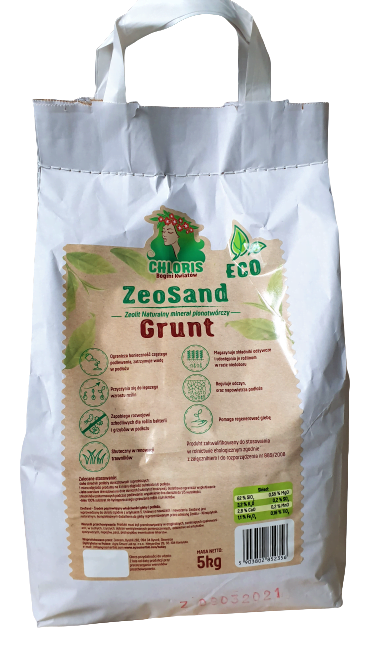 Chloris Zeosand grunt 5 kg_aktywator gleby i podłoża
